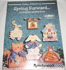 Spring Forward - Miller Artist - Decorative Tole Painting Book - Easter Spring