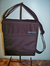 NEW SCENTSY CONSULTANT PARTY TESTER FOLDING BLACK STORAGE TOTE
