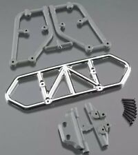 NEW RPM Traxxas Slash 4x4 Rear Bumper Chrome 80123