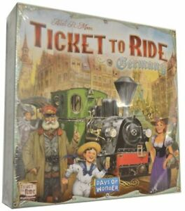 Ticket to Ride: Germany ‐ English-only edition (2017) - New (Rare)