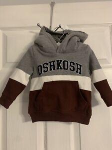 Oshkosh B'gosh baby boy hoodie. size 9 mo.