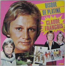 Claude François 33 tours Disque de platine 1981