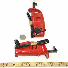 2pc L.M. Cox 1/24 1/32 Slot Car STANDARD RED 12V HAND CONTROLLER Unused 3703-4