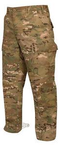 MultiCam Camo Men's BDU Uniform Nyco Pants by TRU SPEC 1221 - FREE SHIPPING