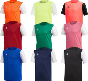 Adidas Kids Boys T Shirt Football Shirt Jersey Estro 19 Running Tops TShirt