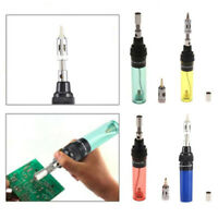 Gas Blow Torch Soldering Solder Iron Butane Cordless Welding Pen Burner Tool New