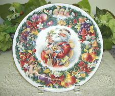 Royal Doulton Plate Chirstmas Wishes 1992 Santa Claus Artist: Neil Faulkner