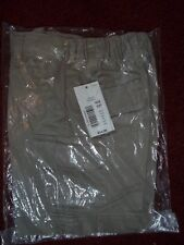 Class Club Blue Boys TanCargo Shorts Size 2T NEW WITH TAGS