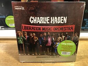 "CHARLIE HADEN - "" LIBERATION MUSIC "" - JAZZ AT 33 1/3 - VINYL DISC - DeAGOSTINI"