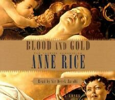 The Vampire Chronicles: Blood and Gold by Anne Rice (2001, CD, Abridged) NEW