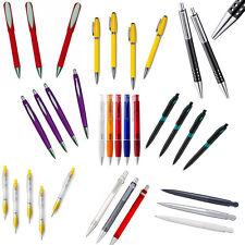 100 Kugelschreiber Kuli Kulis Stifte bunt gemischt ohne Werbeaufdruck NEU