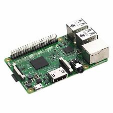 Raspberry Pi 3 Model B Quad Core 1.2GHz 64bit CPU 1GB RAM WiFi & Bluetooth 4.1