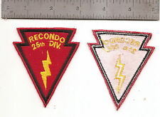 #M16 25TH DIVISION RECONDO PATCH