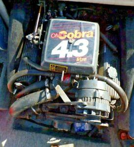 Bootsmotor   OMC Cobra, Volvo Penta, Mercruiser  Motor , 4,3 ltr  cpl.