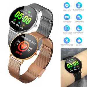 Stainless Steel Smart Watch Bluetooth Smartwatch Remote Camera Phone Mate Watch