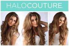 """Authentic Halo Couture 12"""" Hair Extension #116 Cool Blonde with Highlights"""