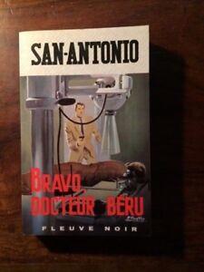 SAN-ANTONIO/SPECIAL POLICE N°661/BRAVO DOCTEUR BERU 1968 EO/GOURDON