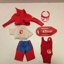 BAYWATCH OUTFIT ACCESSORIES BARBIE MATTEL FASHION DOLLS vintage 1990s 1995