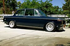 BMW 2002 E10 CUSTOM TWO PIECE CORSA GT STEEL WHEELS STEELIES