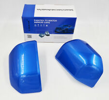 For 15-20 Ford F150 Mirror Cover Skull Cap Replacement Painted Velocity Blue #E7