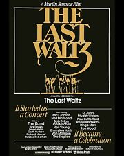 The Band - The Last Waltz Movie Poster - 8x10 Color Photo