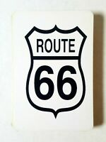 Route 66 Playing Cards Plastic Storage Box Free Shipping