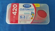 NEW FACTORY SEALED Dr Scholls Cf 420 Custom Fit Orthotic Insoles