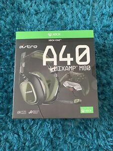 ASTRO A40 TR Gaming Headset & MixAmp M80 RARE Khaki BRAND NEW BOXED NEXT DAY DEL