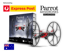 PARROT Minidrones Rolling Spider Drone Quadcopter RC Smart Remote Control RED