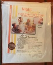 DUST FREE PROTECTION ---PLASTIC MATTRESS SOFT VINYL COVER----COMES IN ALL SIZES