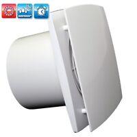 nicht nur leise sondern still Abluftventilator Quiet 125mm mit Hygrostat und Zugschalter