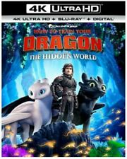 HOW TO TRAIN YOUR DRAGON 3 4K UHD/Blu-ray + Digital HD NEW + FREE SHIP #Fantasy
