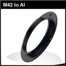 M42 lens to AI AIS Nikon mount adapter D750 D610 D7500 D7200 D7000 D90 D300 D4