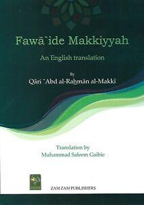 Fawa'ide Makkiyyah - An English Translation           Islamic Books UK 786 Darsi