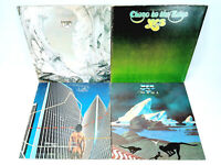 LOT OF 4 Yes LPs - Relayer, Close To The Edge, Drama & Going For The One  VG+