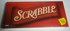 2001 Scrabble Crossword Tile Board Game Sealed - Parker Brothers New #04024