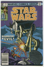 Star Wars #51 Resurrection Of Evil Original Series News Stand Variant Fn