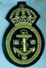 Schweden:Muetzenabzeichen:Marine-Uffz.f.Schirmmütze