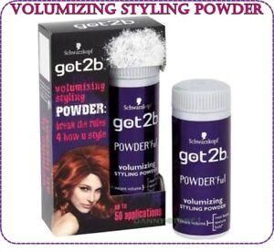 Schwarzkopf Got2b Powder'ful Volumizing Styling Powder  for Hair 10g