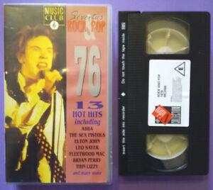VHS Film Eng Musicale Seventie's ROCK & POP 76 James Brown no dvd cd lp mc(V201)