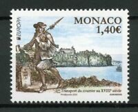 Monaco Europa Stamps 2020 MNH Ancient Postal Routes Services Architecture 1v Set