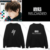 Kpop  EXO Luhan New Reloaded Jumper Clothes Sweatershirt Unisex Hoodie Sweater