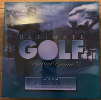 Ultimate Golf Trivia Game with 2400 Golf Trivia Questions New Sealed & Unopened.