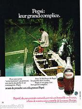 PUBLICITE ADVERTISING 085  1971  PEPSI-COLA   soda  peche