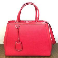 RUSH SALE! Pre Owned Authentic FENDI 2Jours 2 Way Leather Shoulder Bag / Handbag