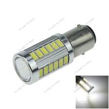 1X White 1157 BAY15D 33 5730 LED Brake Turn Signal Rear Light Bulb E060