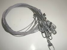 Hilltop Outdoor 48 inch 3/32 Washer Lock Snares (1 Dz.) Poly Trapping Snare