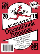 2019 Red Devil Combination Dream Book - Lottery Book - Lottery
