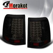 Ford Explorer 02-05 LED Left/Right Rear Brake Tail Light Black Housing Smoke Len
