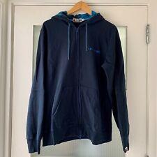 BAPE A Bathing Ape Full-Zip Navy Blue Hoodie Sweatshirt - Size XL